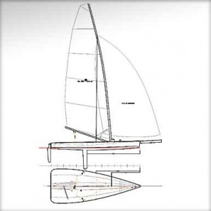 Stealth 14 Sailplan